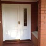 New door AFTER shot