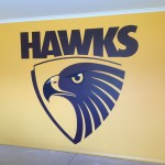 Interior wall - Hawks theme