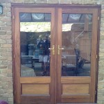 New timber door finishes