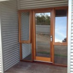Extension - timber finishes on entry